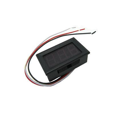10.56 Inch Led Digital Voltmeter Dc4.5v-30.0v Two-wire Voltage Meter 48x29x22mm