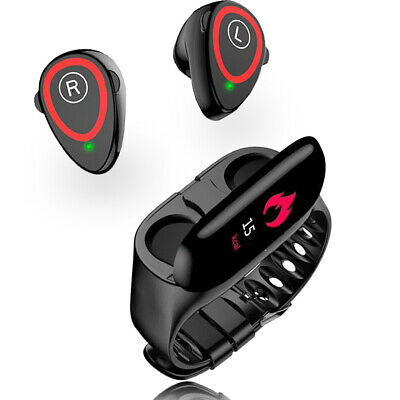 Smart Bracelet Exercise & Fitness Tracker Watch Pedometers For iPhone & Android