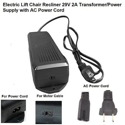 Ashley Okin Lift Chair Power Recliner Power Supply Transf...