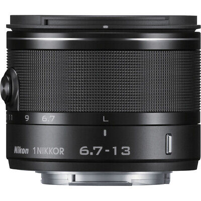 Nikon 1 NIKKOR 6.7-13MM VR (Black) 3329 - Factory Refurbished