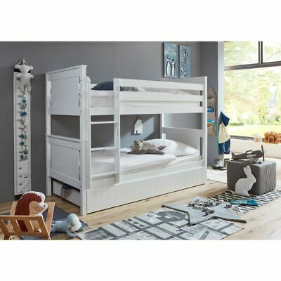 Etagenbett Hochbett Stockbett Kinderbett MIA mit Schublade Buche weiß NEU/OVP
