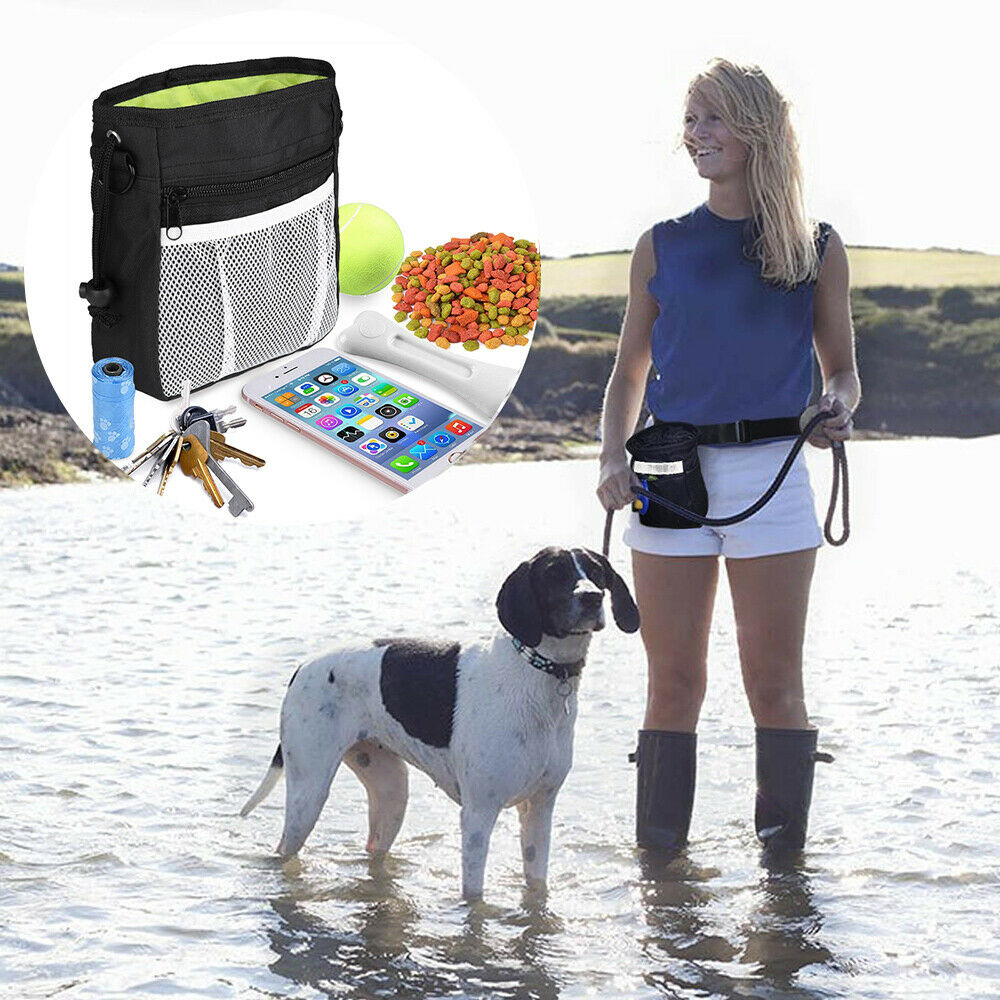 Strong Pet Dog Puppy Obedience Training Treat Bag Feed Bait Snack Pouch Bag - CA$13.86
