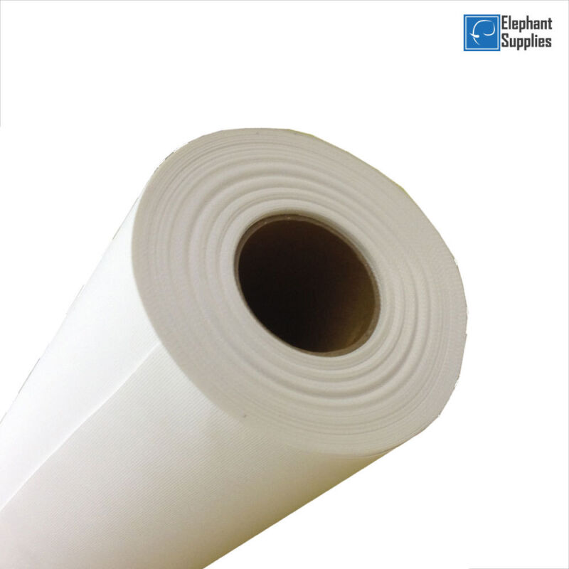 Inkjet Canvas Rolls, Matte Polyester Canvas Roll 280gsm 18m & 30m in All Sizes