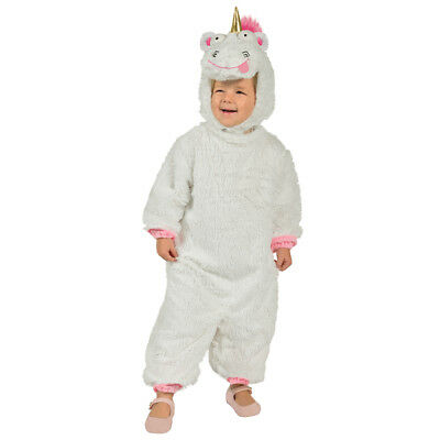 Toddler Fluffy Unicorn Despicable Me Costume size XS 3T-4T - Toddler Despicable Me Costume