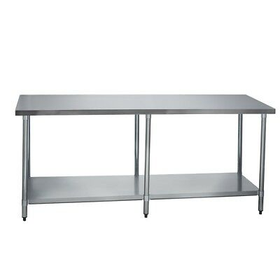 Stainless Steel Commercial Work Prep Table - 30 X 84 G