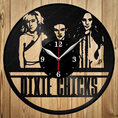 Vinyl Clock Dixie Chicks Band Handmade Vinyl Clock Art Home Decor Original 4391
