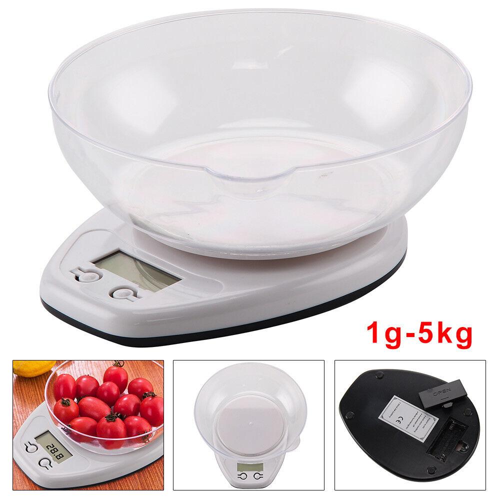 $_10 Balance de Cuisine Électronique LCD de Précision Acier Inoxydable