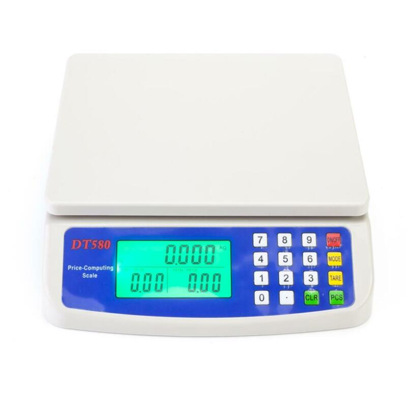 33lb Electronic Postal Price Scale LCD 15kg*1g Digital Weight Vegetables Scale