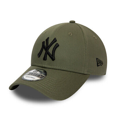 NEW ERA NEW YORK YANKEES BASEBALL CAP.9FORTY KHAKI COTTON ESSENTIAL HAT S20 84