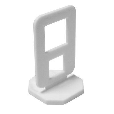 80x Zuglaschen Fliesenverlegung Fliesen Verlegehilfe Nivelliersystem Keilen