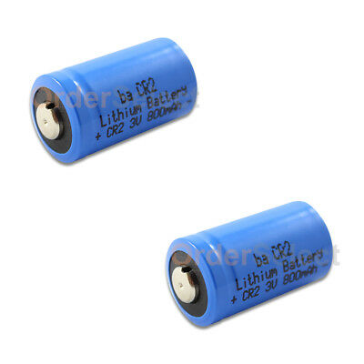 2X Battery Lithium Photo Camera Flashlight 800mAh 3V CR2 CR-2 Authorized Seller