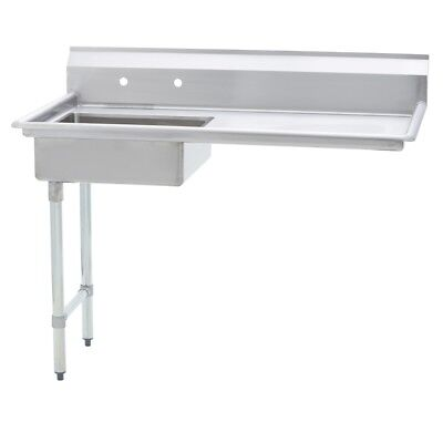 Stainless Steel Commercial Undercounter Dish Table Left Side 30 X 60 G