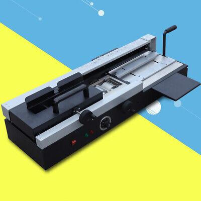 Wd-40a Plastic Binding Machine Hot Melt Glue A4 Book Binding Wireless Desktop