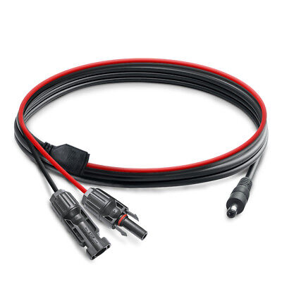 MC4 Connector Cables Solar Panel Adapter to DC 5.5mm x 2.1mm for Solar Generator