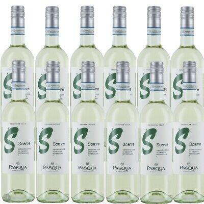12 Pasqua Lettere Soave DOC Weißwein trocken Italien Venezien 12% vol (12x75cl)