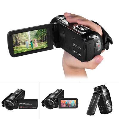 1080P FHD Kamera Camcorder Digital Videokamera LCD 16x Zoom DV Gesichtserkennung Video Gesicht