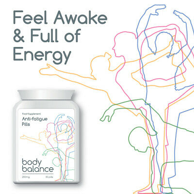 BODY BALANCE ANTI-FATIGUE PILL TABLET STOP EXHAUSTION GET ENERGY HERBAL & SAFE