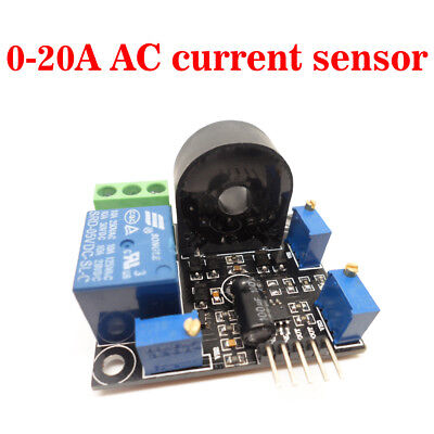 Ac Current Sensor 0-10a Short Circuit Overcurrent Protection Devices