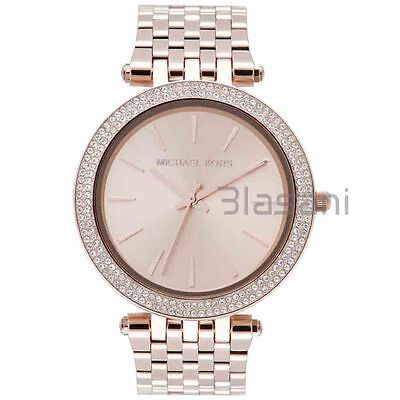 Michael Kors Original MK3192 Women's Rose Gold Stainless Steel Watch