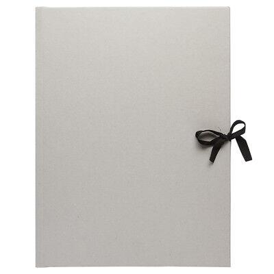 JAS : Grey Card Presentation Folio : With Ties : A3