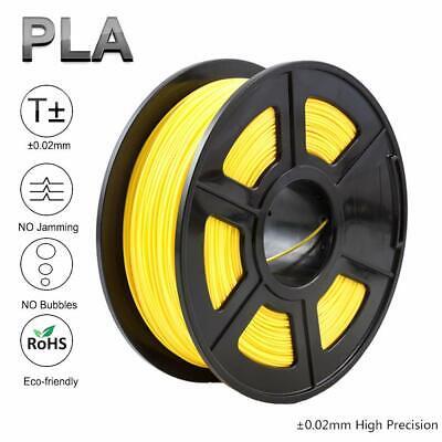 3d Printer Filament Pla 1.75mm Yellow For Reprap Makerbot Print Colors