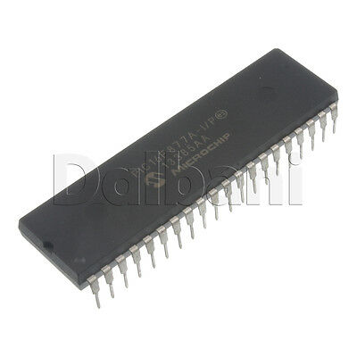 PIC16F877A-I/P Original New Microchip 40Pin 8Bit RISC Microcontroller IC