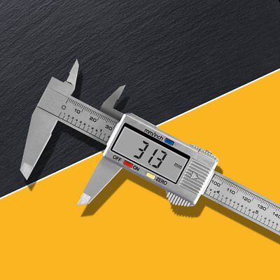 6 150mm Lcd Digital Vernier Caliper Micrometer Measure Tool Gauge Ruler New