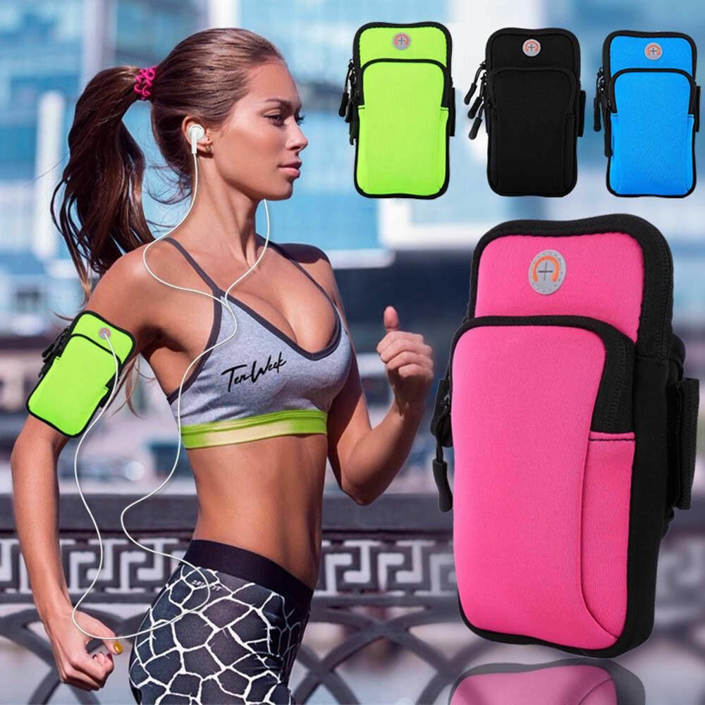 Handy Armtasche für Sport Fahrrad Laufen Joggen Fitness Armband Bag Hülle Tasche
