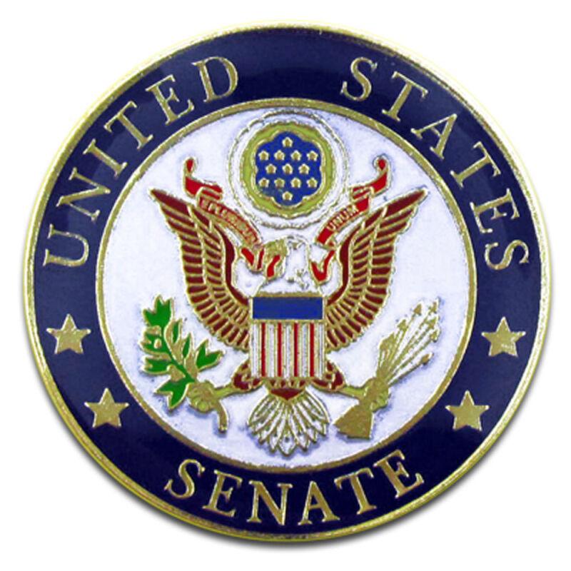 UNITED STATES SENATE SEAL SENATOR LAPEL BADGE PIN