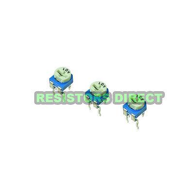10x 100k Ohm Variable Resistor Horizontal Trimpot Trimmer Pot 104 10pcs D17