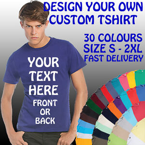 YOUR-CUSTOM-TEXT-PRINTED-ON-A-PERSONALISED-T-SHIRT-STAG-HEN-BIRTHDAY-HOLIDAY