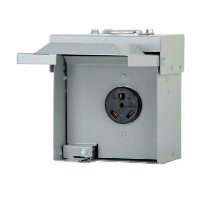 30-amp Single-outlet Receptacle 120240-volt Unmetered Rv Motor-home Box Tt-30r