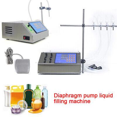 Electric Digital Diaphragm Pump Liquid Filling Machine 300w 5ml-5000mlminute