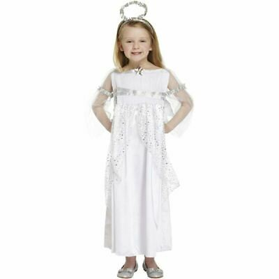 Angel inc Wings & Halo Christmas Fancy Dress - Childs Halo Kostüme