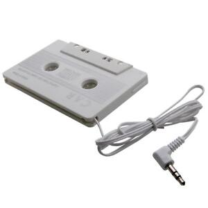 NEW-Audio-Car-Cassette-Tape-Adapter-for-MP3-IPOD-Nano-CD-IPHONE-AUX-White