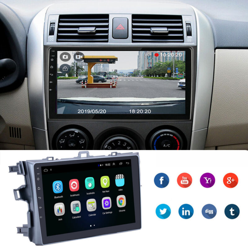 2Din Android 9.1 Car Stereo Radio 9