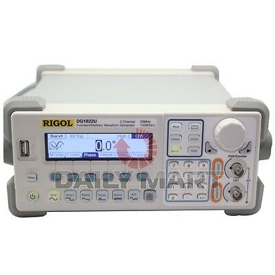 Rigol Dg1022u Functionarbitrary Waveform Generators 25mhz Harmonic Sine 2ch