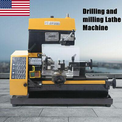 3-in-1 Precision Milldrill Micro Mill And Drilling Machine 110v Multi-function