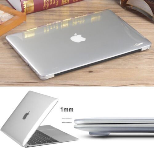 Crystal Clear Hard Case Cover For Apple Mac Macbook Pro