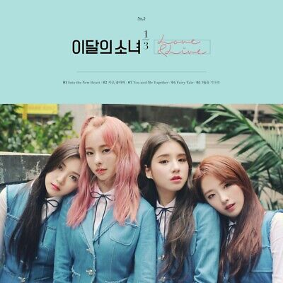 Monthly Girl 1/3 Loona[Love&Live]1st Mini Reissue Limited CD+PhotoBook+Card Kpop