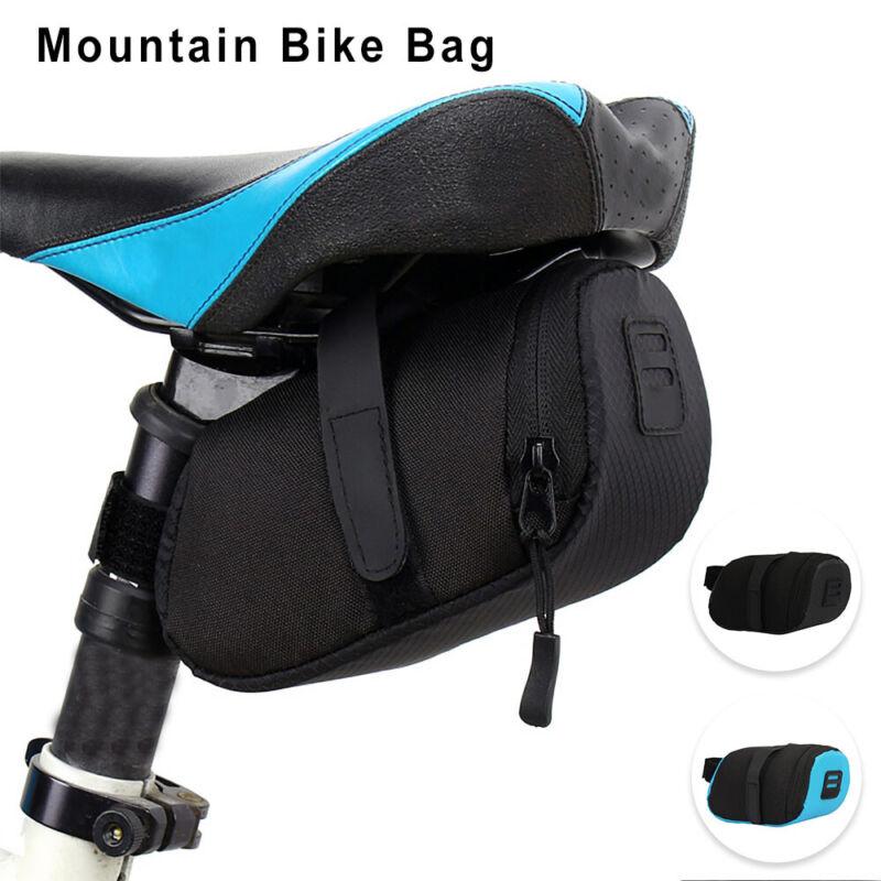Waterproof Bike Saddle Bag Bicycle Under Seat Storage Tail P