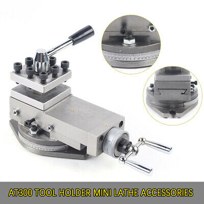 At300 Metal Tool Holder Mini Lathe Accessories Metal Change Drill Lathe Assembly