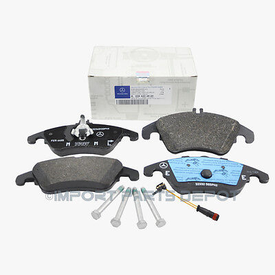 Mercedes Front Brake Pads Pad Set Genuine OE 0062820 + Sensor 21117 VIN#REQUIRED