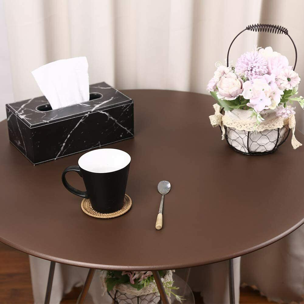 Stretch Round Tablecloth Waterproof Oil-Proof Table Cover Wedding Restaurant