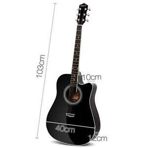 "41"" 5- Band EQ Electric Acoustic Guitar Full Size Black Brisbane City Brisbane North West Preview"