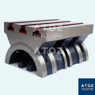 4 To 10 Adjustable Swivel Angle Plate 100-250mm Tilting Tables Heavy Duty Atoz