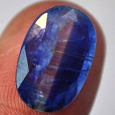 8Ct Natural Kyanite (faceted- approx. 16mm X 10mm)