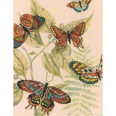 Rto Cross Stitch Kit   Butterfly Kingdom I