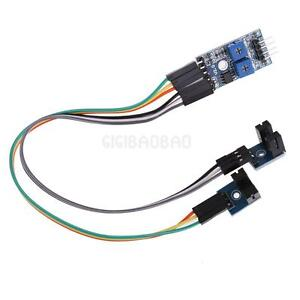 2 Channels Speed Sensor Count Motor Speed Detection Optical Coupling Module