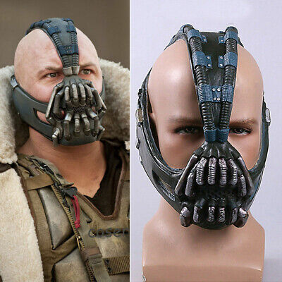 Bane Cosplay Mask Costume Props The Dark Knight Rises Helmet Halloween Adult New - Bane Halloween Costume Dark Knight Rises